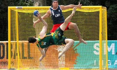 Beach handball news
