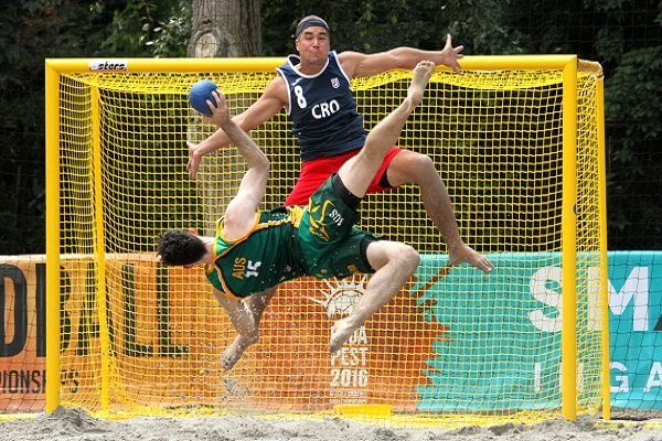 Beach handball news