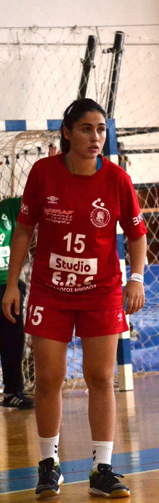 Παίκτρια του Φιλίππου θα είναι και τη νέα χρονιά η 21χρονη εξτρέμ