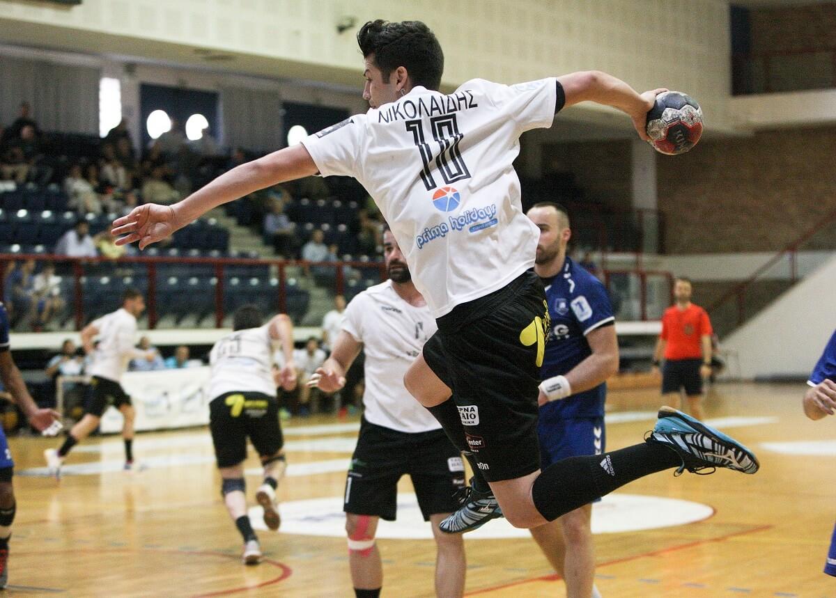 Ο Νίκος Νικολαΐδης μίλησε στο e-handball.gr μετά τη νίκη του ΠΑΟΚ επί του  Αερωπού με 19-24 και την πρόκριση στους προημιτελικούς του Κυπέλλου Ελλάδος. 59134a370e8