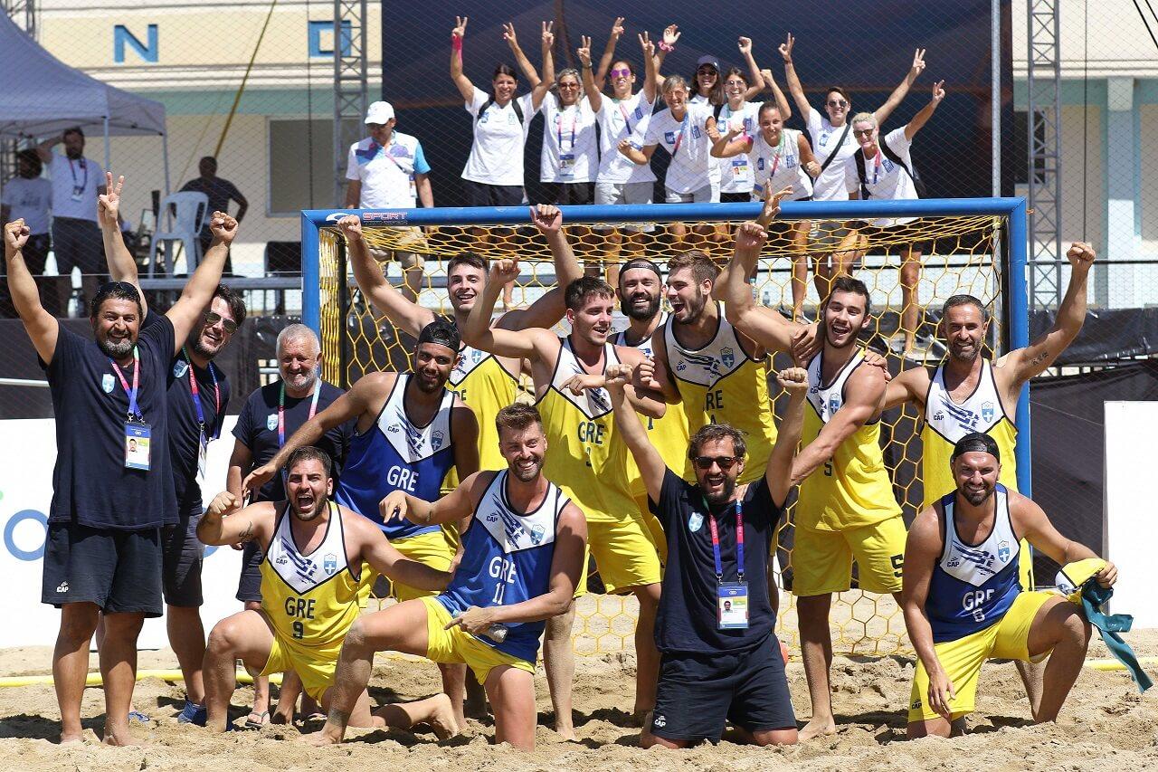 beach handball ανδρών