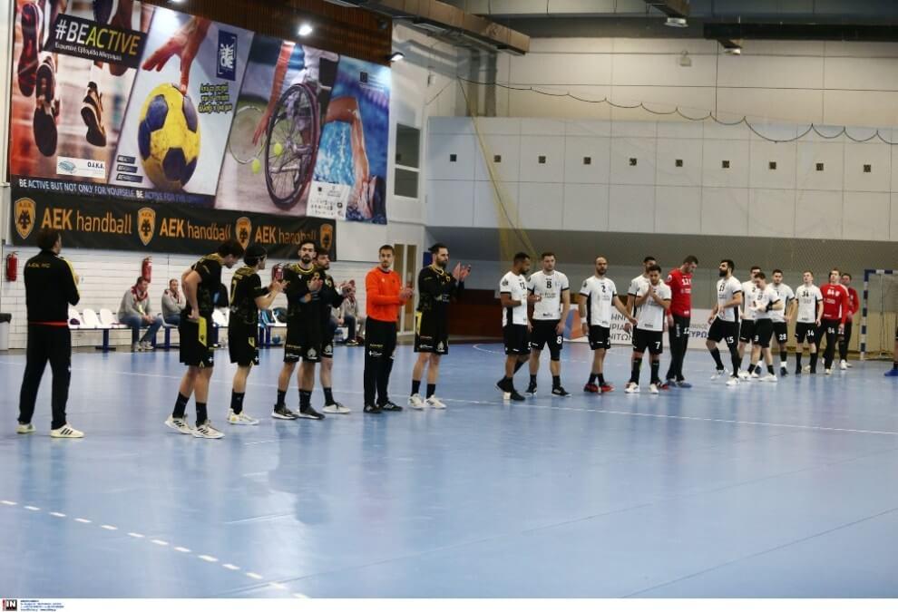 aek csm bucuresti handball parousias1111